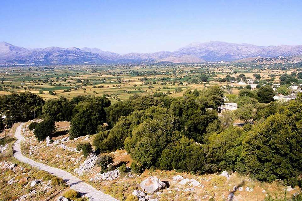 The archaeological sites of the Lassithi plateau , The site of Lato , Greece