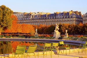 Les sites, France, Paris, Tuileries, jardin, bassin