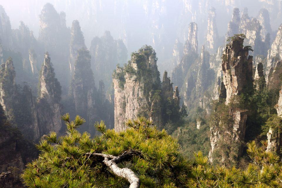 Les paysages, Zhangjiajie Nature Horizontal Prise de vue en extérieur Asie