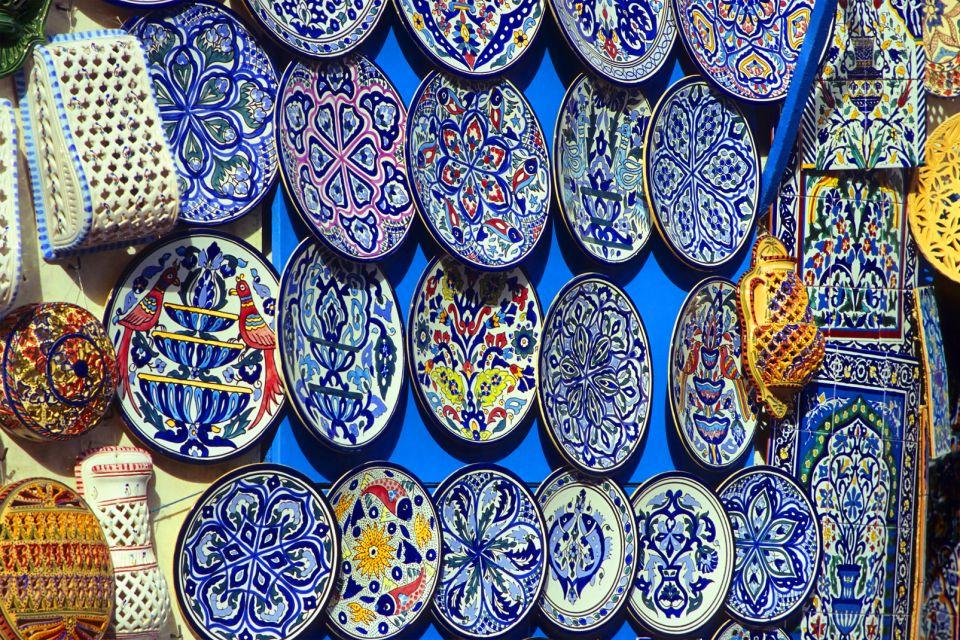 Les arts et la culture, Sidi Bou Saïd, tunisie, maghreb, Afrique, ville, arabe, art, artisanat, plat.