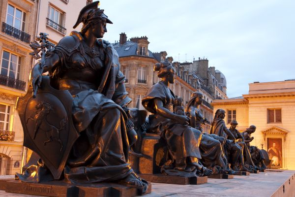 Les arts et la culture, France, Paris, Ile-de-France, Europe, culture, musée, art, Orsay, musée d'Orsay, statues, vertues