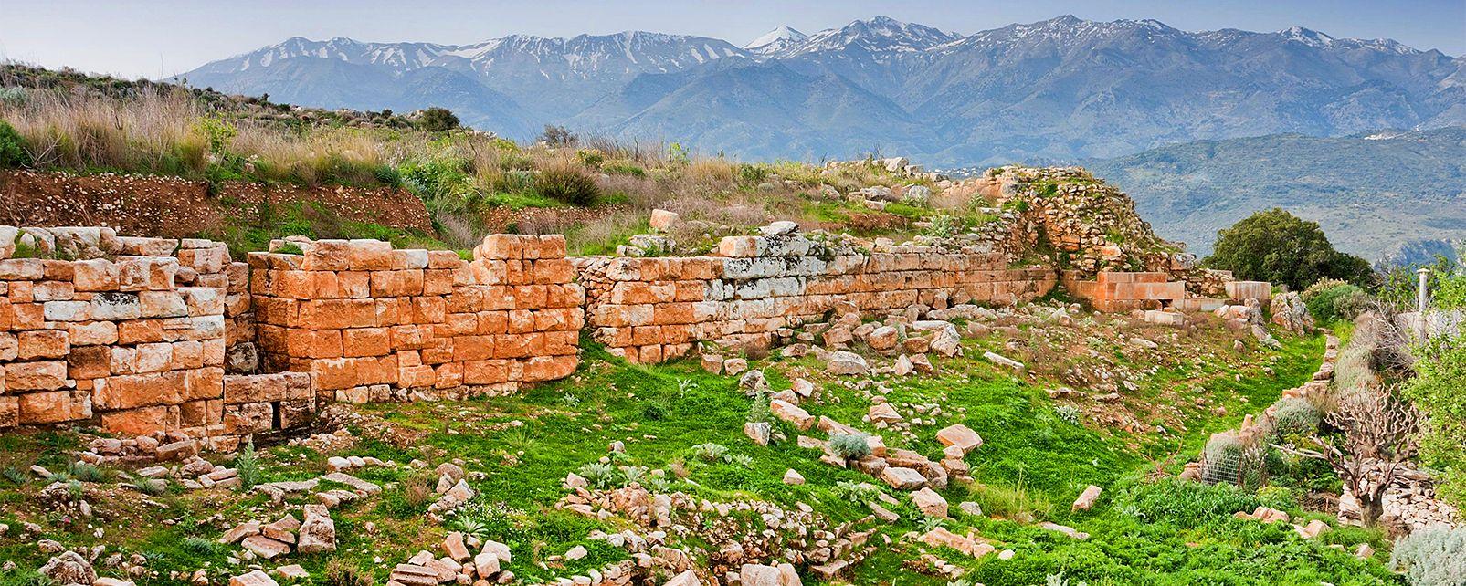 Aptéra, Apera, Monuments, Crete