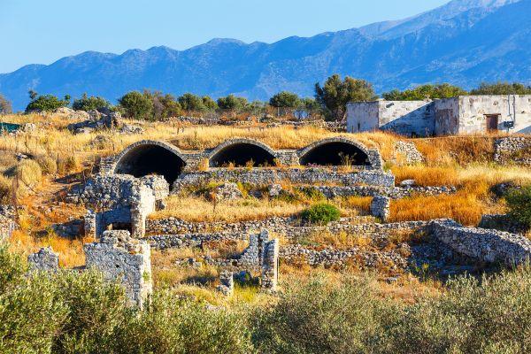 , Aptéra, Les monuments, Crète