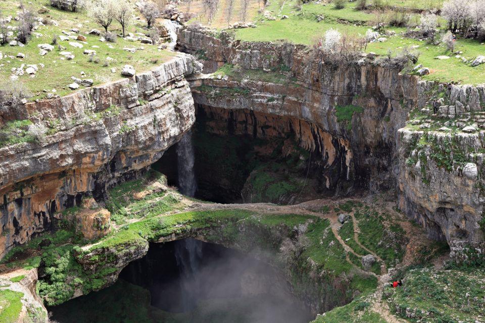 Les paysages, Liban, moyen-orient, goufre, baatara, Tannourine, trois ponts, balaa.