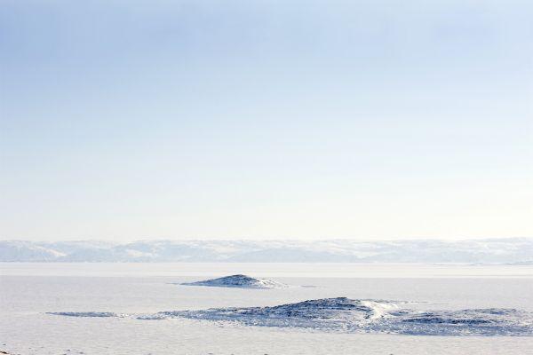 Les paysages, Ile, Baffin, Nunavut, Canada, Amérique du Nord, Toundra, Neige, Arctique, Nunavut