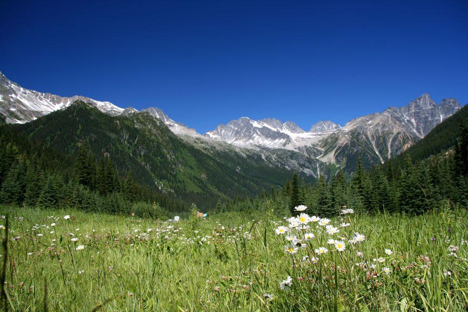 Les paysages, vista, landscape, british, columbia, park, blue, boulders, canad