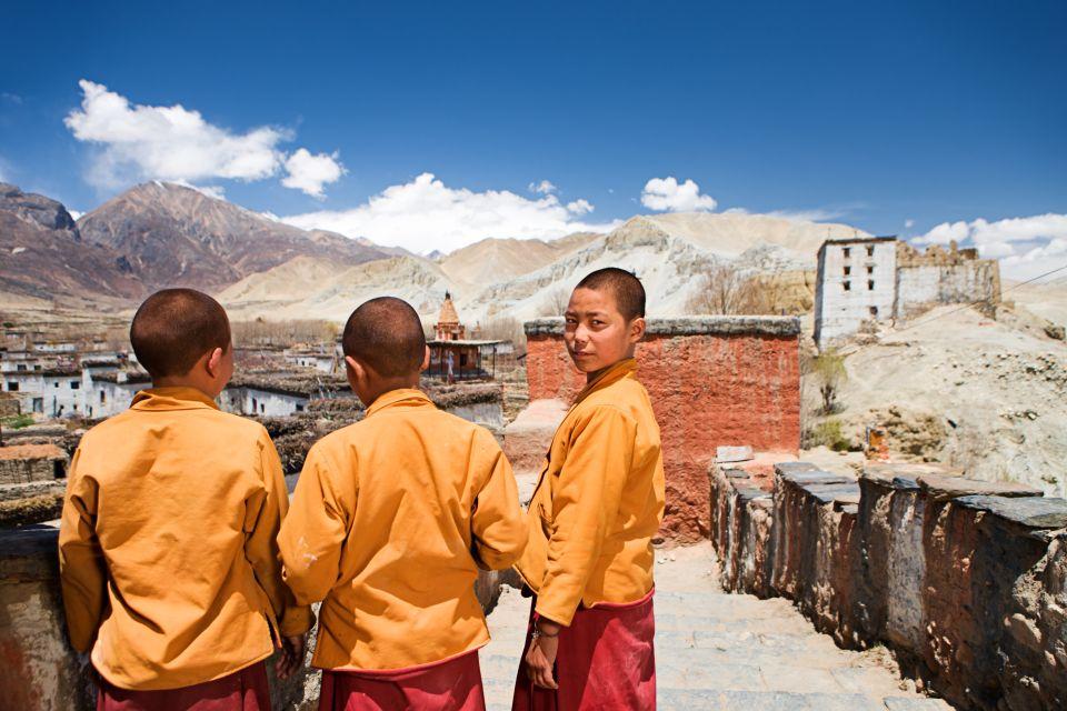 Les arts et la culture, Mustang, Tibet, Annapurna, Nepal, Inde, Asie, moine, monastère, religion