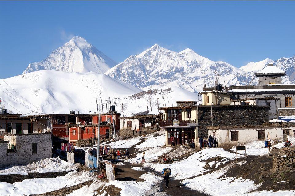 Les arts et la culture, Mustang, Tibet, Annapurna, Nepal, Inde, Asie, Dhaulagiri.