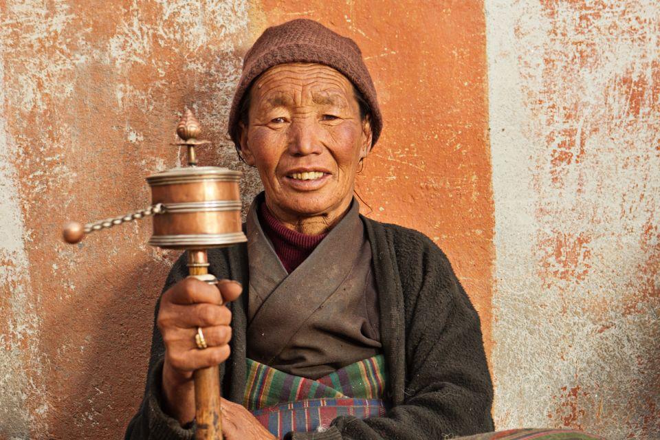 Les arts et la culture, Mustang, Tibet, Annapurna, Nepal, Inde, Asie, prière, religion.