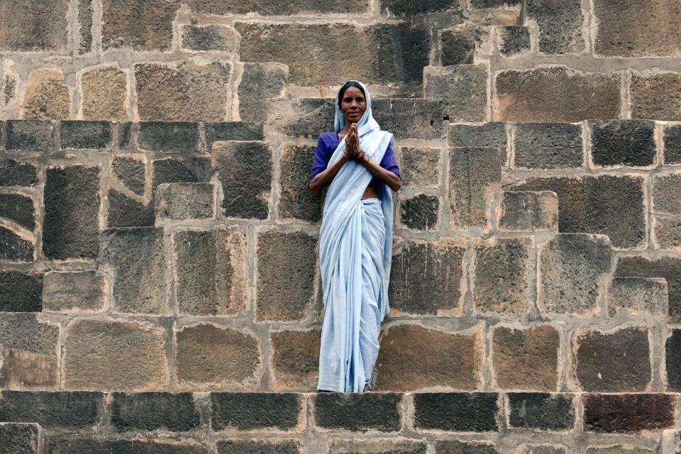 Les monuments, chand baori, Abhaneri, rajasthan, inde, puits, asie, harsat mata, temple, femme.