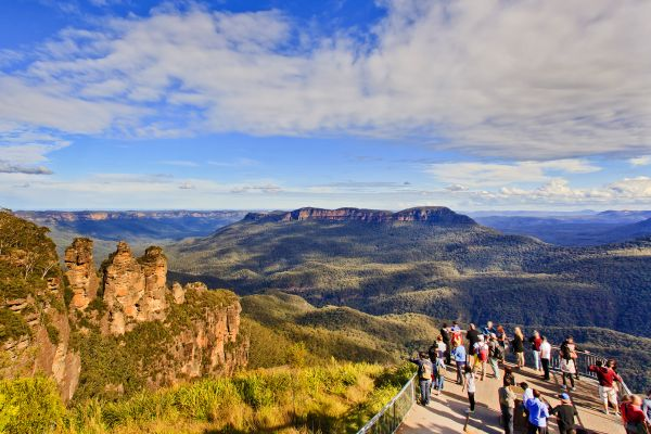 Blue Mountains, Les Montagnes Bleues ou Blue Mountains, Les paysages, Australie