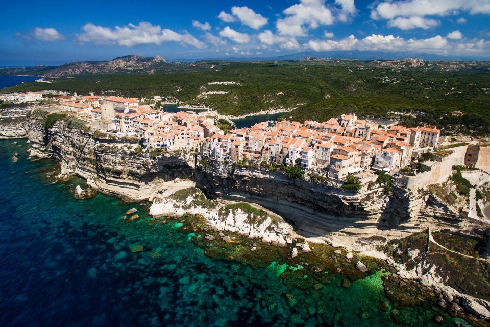 Les côtes, Corse, corse-du-sud, France, europe, méditerranée, mer, bonifacio.
