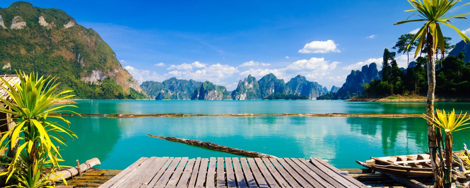 Les paysages, parc national, Khao Sok, surathani, thaïlande, thailande, asie, surat thani