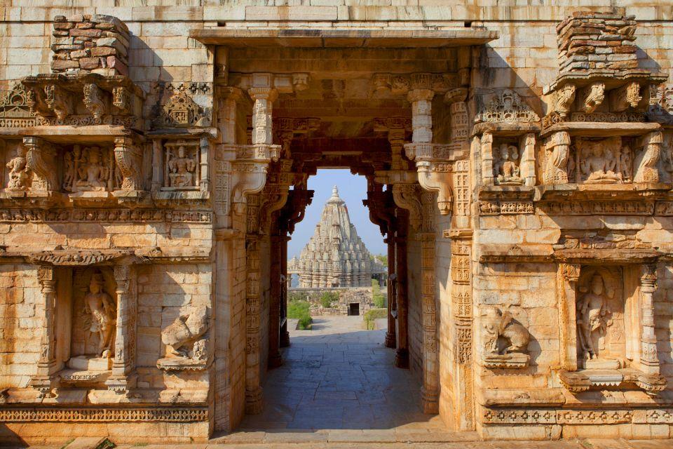 Le fort de Chittorgarh, Les monuments, Rajasthan