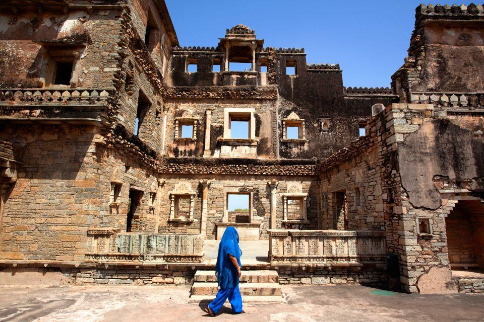 le fort de chittorgarh rajasthan inde