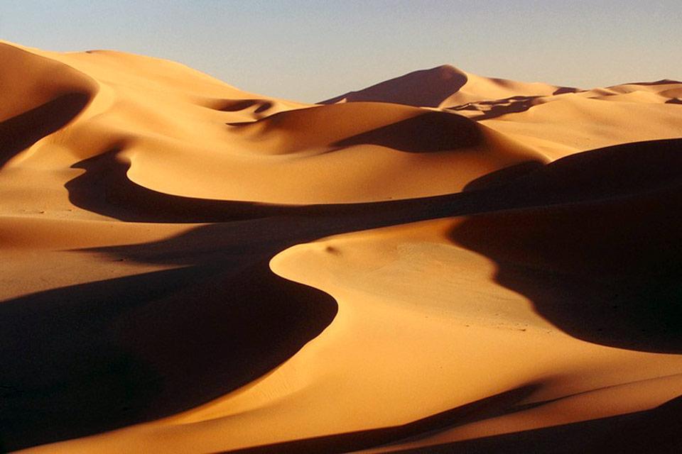 Los grandes ergios , Argelia