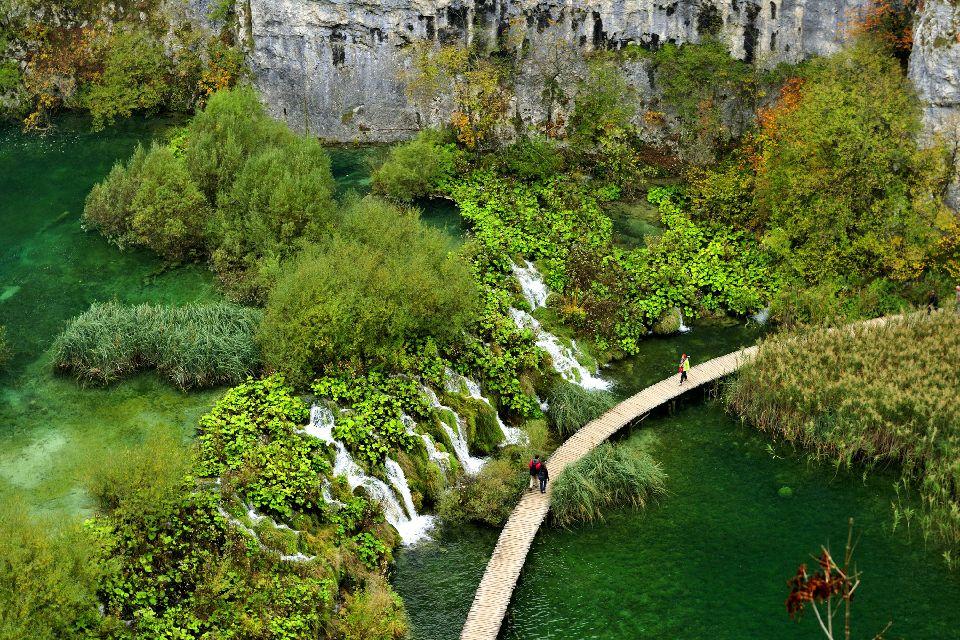 Le parc national de Plitvice , Visite du parc , Croatie