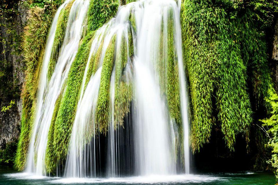 Le parc national de Plitvice , Des chutes dans le parc national de Plitvice , Croatie