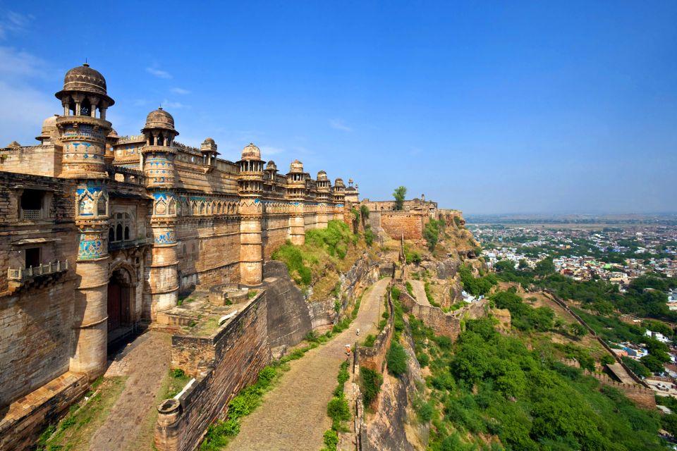 Fort de Gwalior, Le fort de Gwalior, Les monuments, Inde du Nord
