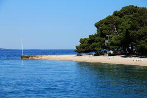 Les côtes, Makarska, brela, Europe, Croatie, plage, adriatique, mer, punta rata