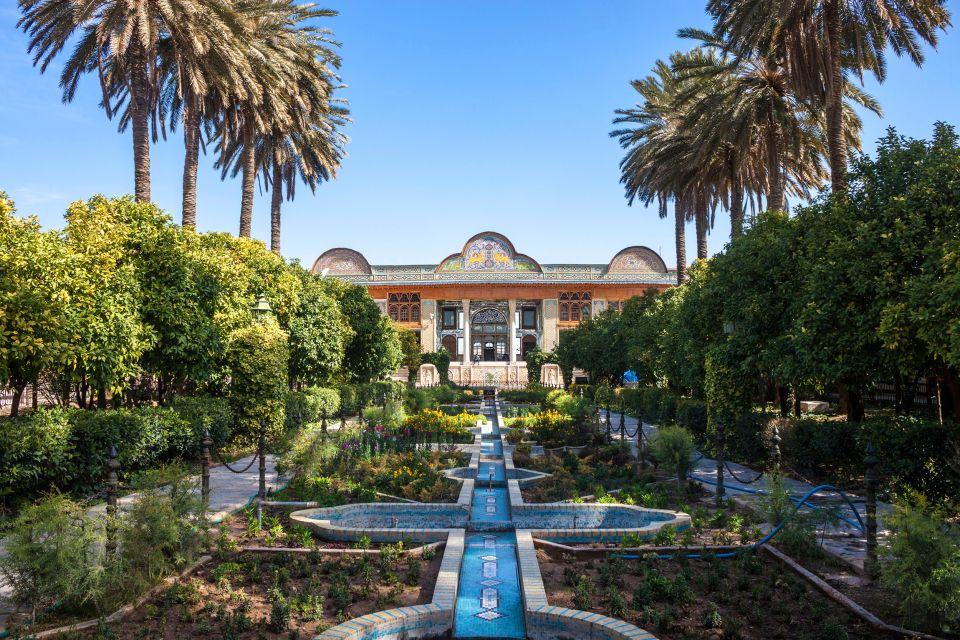 Les monuments, naranjestan, Shiraz, Iran, eram, jardin, moyen-orient.