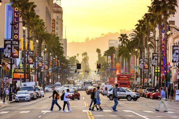 Les arts et la culture, star, hollywood, Los angeles, walk of fame, cinéma, étoile, trottoir, amérique, etats-unis, Californie