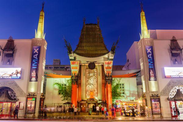 Les arts et la culture, hollywood, Los angeles, walk of fame, cinéma, amérique, etats-unis, Californie, théâtre chinois.
