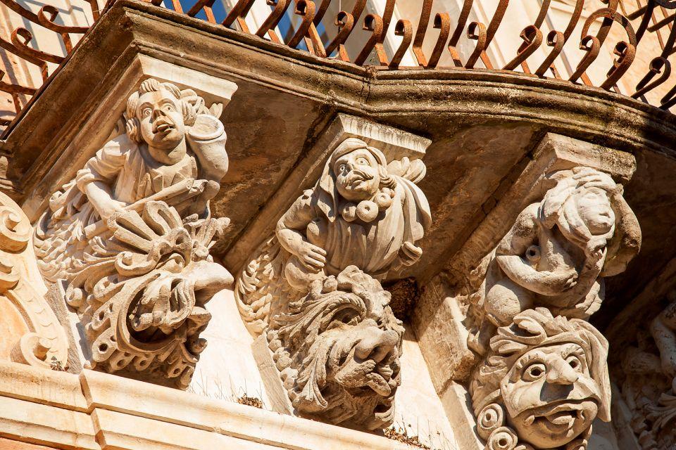 Baroque architecture, Le centre baroque de Raguse, Les monuments, Sicile