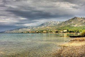 Le parc national de Paklenica , parc national de Paklenica dans le Velebit , Croatie