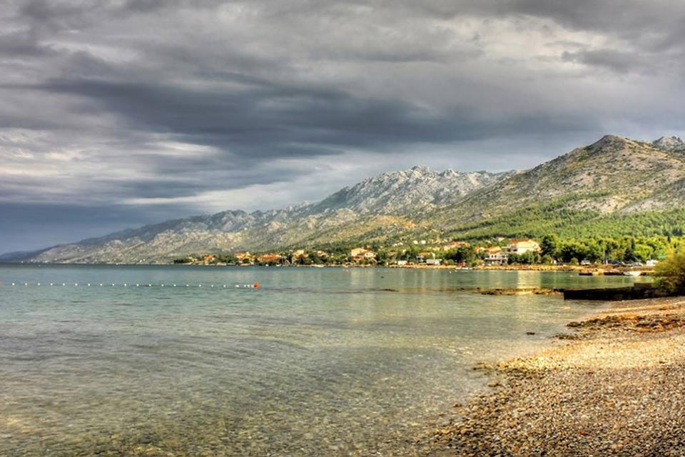 Il parco nazionale di Paklenica , parco nazionale di Paklenica nel Velebit , Croazia