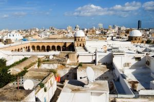 La Grande Mosquée d'Al-Zitouna, La médina de Tunis, Les monuments, Tunisie