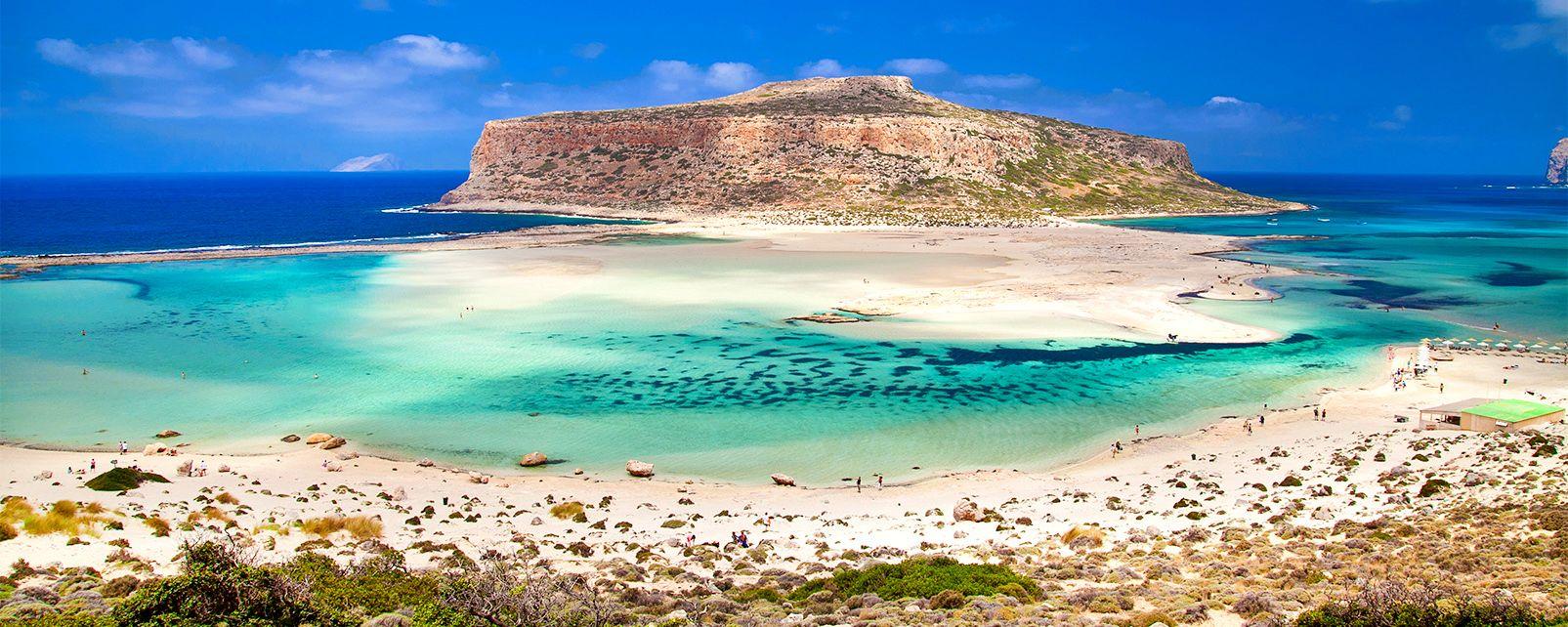 , Balos Beach et son lagon, Les paysages, Crète