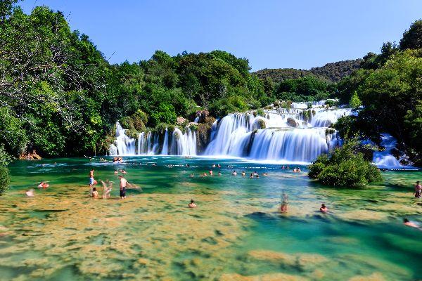 Il parco nazionale di Krka , Parco nazionale di Krka in Croazia , Croazia