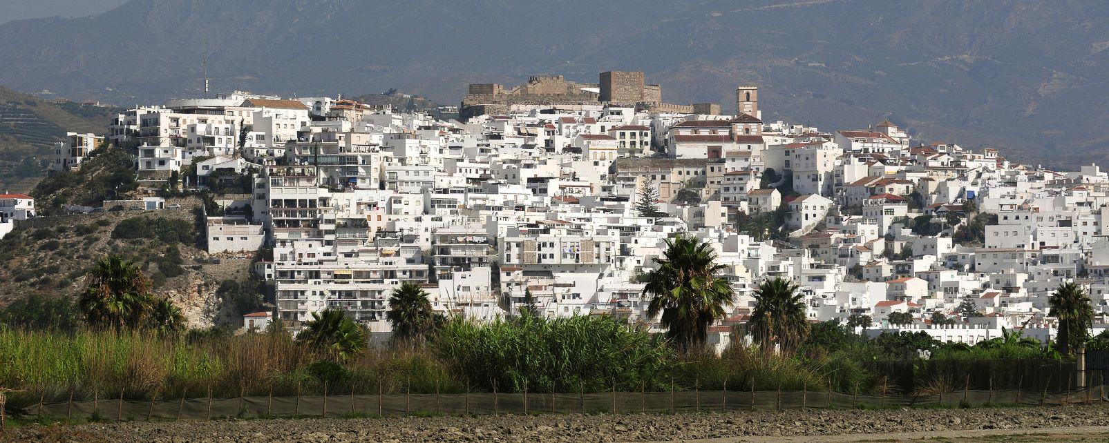 Espagne- Andalousie- Salobrena, Le village blanc de Salobrena et son château., Les monuments, Andalousie