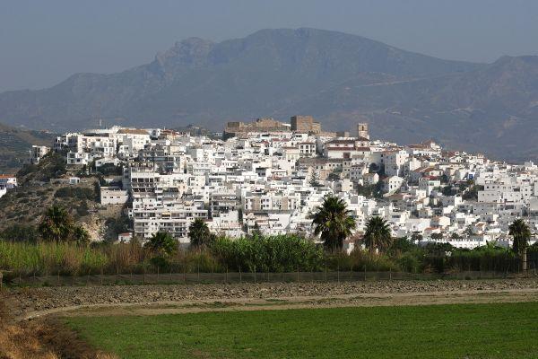 Le Village Blanc De Salobrena Et Son Château Andalousie