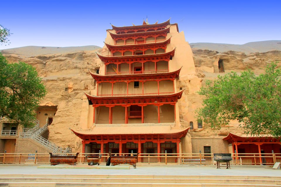 Les paysages, Cultural Relics, Dunhuang, Geographical Locations, The Ancient City, ancient architecture, chinese style