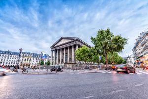 La place de la Madeleine, Les sites, Ile de France