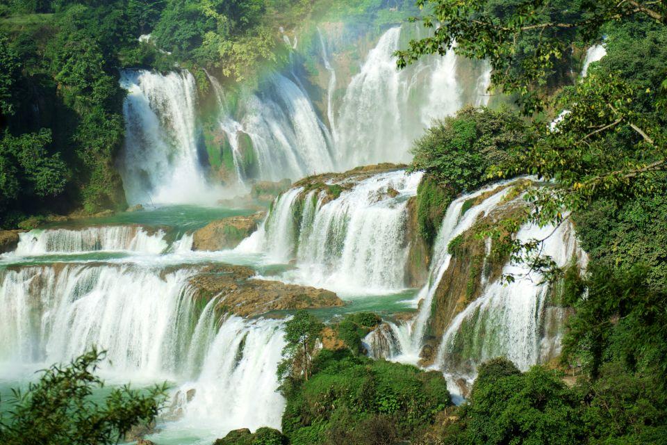 Les paysages, Guangxi, chine, asie, chute, cascade, detian, Daxin, nanning