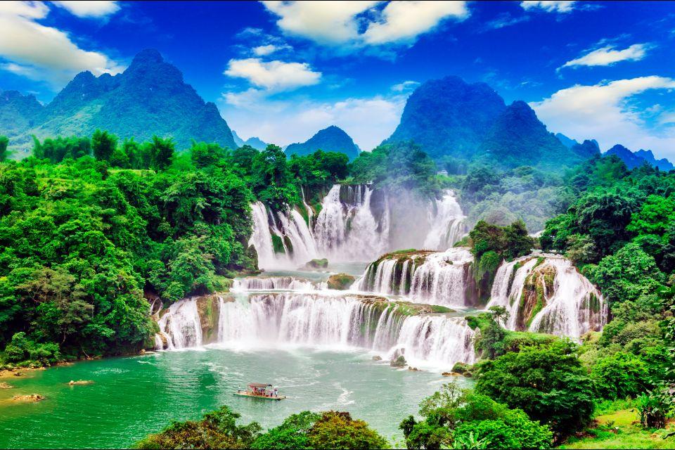 Les paysages, Chutes de Detian, Chine