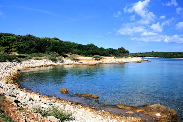 The Brioni archipelago in Croatia, The National Park on Brijuni island, Landscapes, Croatia