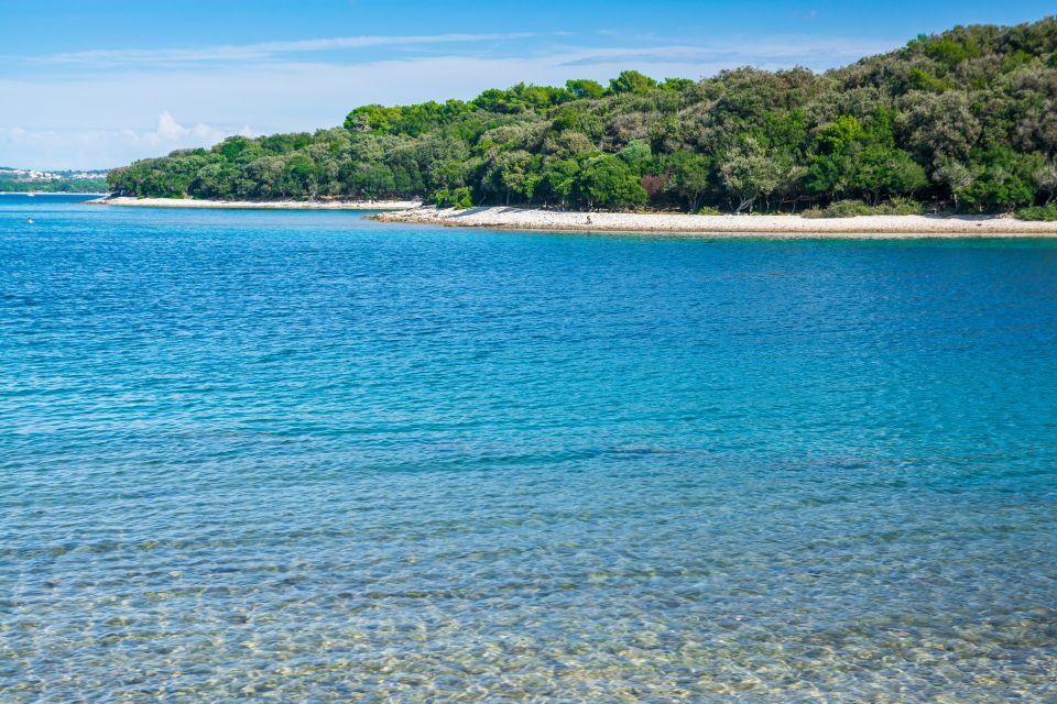 , Il parco nazionale dell'isola di Brioni, I paesaggi, Croazia