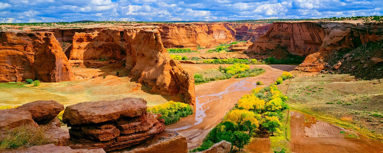 , Le canyon du Chelly, Les paysages, L'ouest des Etats-Unis