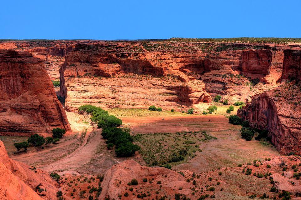 Canyon Chelly, Le canyon du Chelly, Les paysages, L'ouest des Etats-Unis