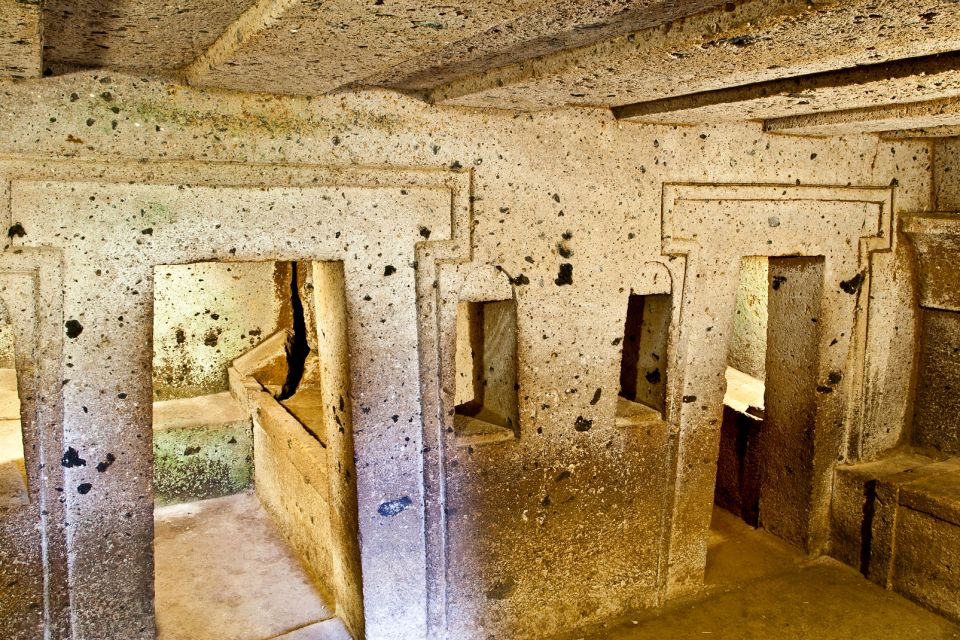 La nécropole de Banditaccia, La nécropole de Banditaccia, Les sites archéologiques, Latium