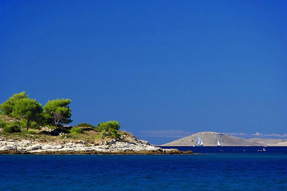 Les parcs nationaux de Dalmatie , Le parc national de Dalmatie , Croatie