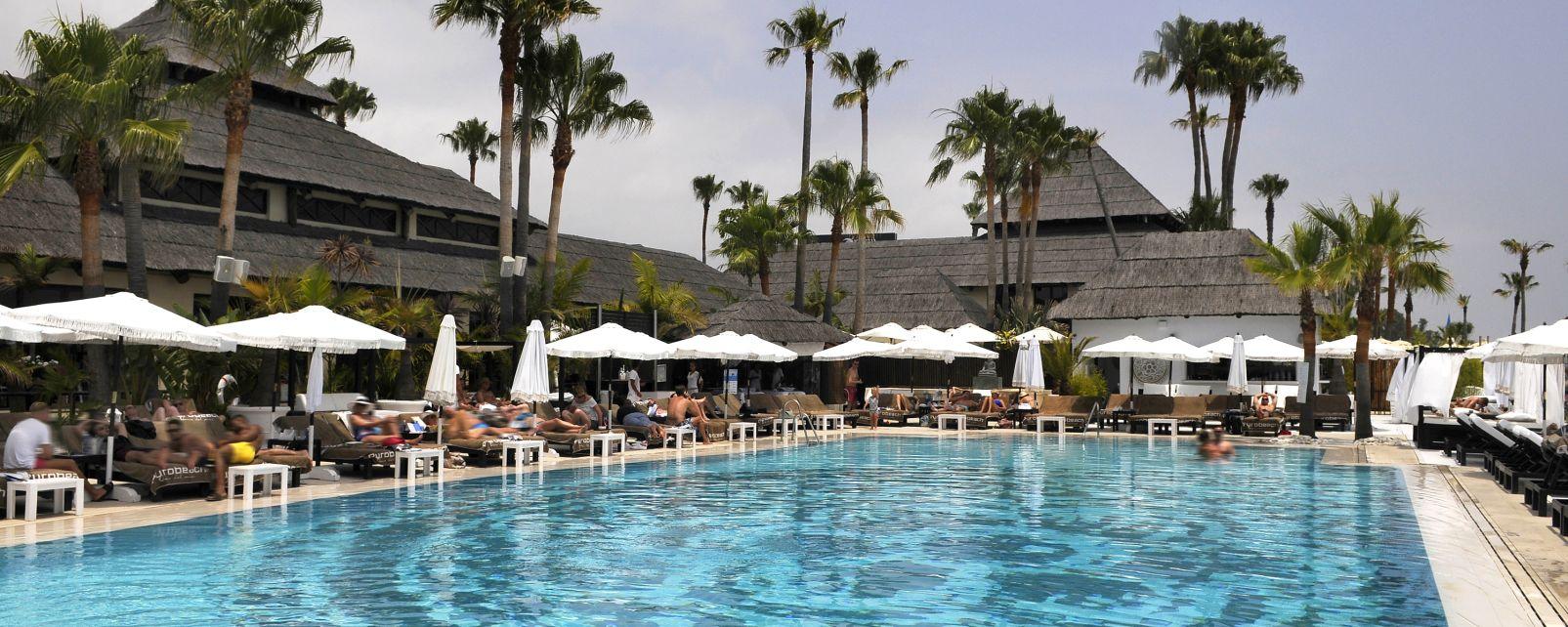 Les activités et les loisirs, Espagne, Andalousie, Puro Beach, Marbella: hotel