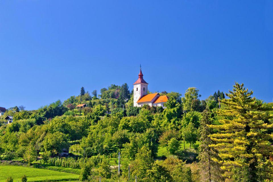 Les paysages, medvednica, sljeme, foret, croatie, medvenica, europe, religion, vugrovec