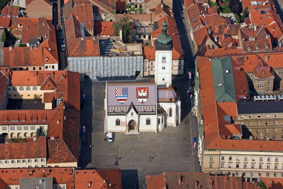 Les arts et la culture, ville haute, zagreb, croatie, capitale, europe