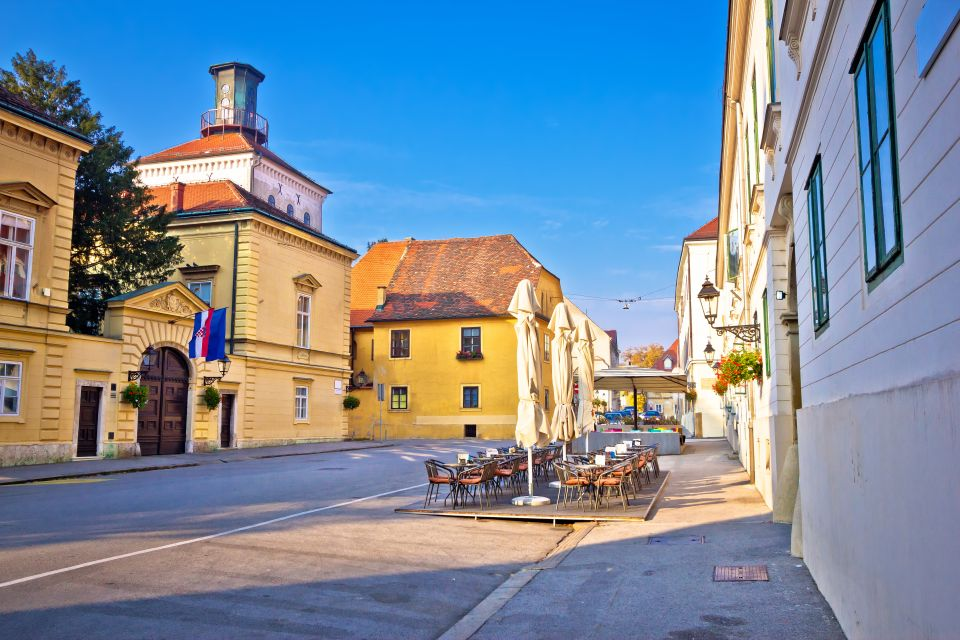 Les arts et la culture, tkalciceva, ville haute, zagreb, croatie, capitale