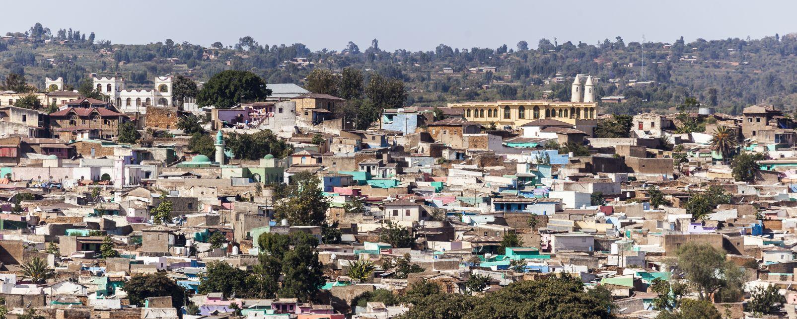 Les monuments, Unesco, Harar jugol, fortification, éthiopie, afrique, citadelle